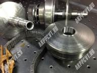 Износ шкивов и цепи вариатора Ауди